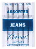Klasse Machine Needles Jeans Assorted