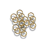 Jump Rings: Gold: 5mm: Pack of 30