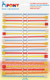 Children's Plastic Knitting Pins