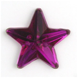 Acrylic Jewels: Sew-On: Star