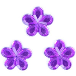 Acrylic Stones: Glue-On: Flower