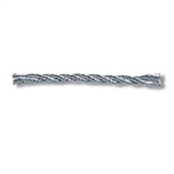 Braid: Fine Twisted: 2mm: Silver