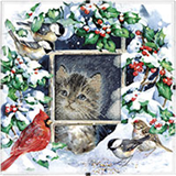 Dimensions Daydreams: Winter Kitten