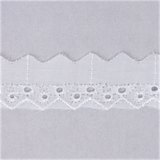 Broderie Anglaise Lace: 25mm