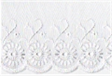 Broderie Anglaise Lace: 75mm