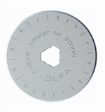 Olfa Replacement Rotary Blades: Large: 45mm: Pack of 10
