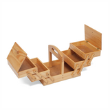 Sewing Box - Wood Cantilever