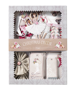 Sweet Christmas by Tilda: Decor Set