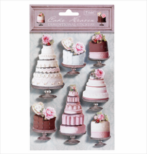 Cake Heaven by Tilda: 3D Stickers