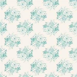 Fat Quarter: Country Escape by Tilda: Mia Teal