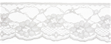 Lace: Nylon: 70mm wide: Light Grey