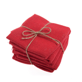 Fat Quarter - Red Hessian
