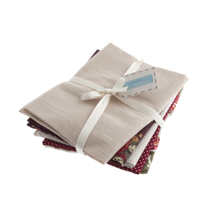 Fat Quarter Bundle - Cotton/Linen - Natural