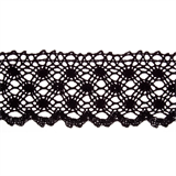 Lace: Cotton: 70mm wide