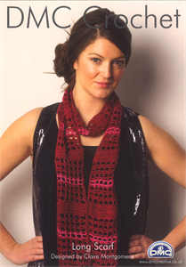 Long Scarf - DMC Crochet Pattern