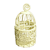 Birdcage: Mini with Lid: Ivory