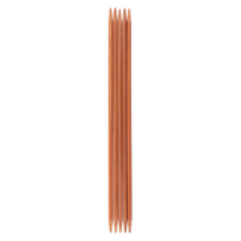 Milward Bamboo: Knitting Pins: Sets of 5: Double Ended: 15cm Long