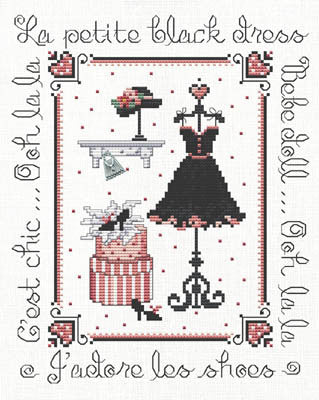 Ooh La La! Cross Stitch Chart