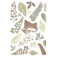 Royal Langnickel Clear Stamps - Leaf Decor