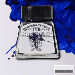 Winsor and Newton Ink 14ml – Violet