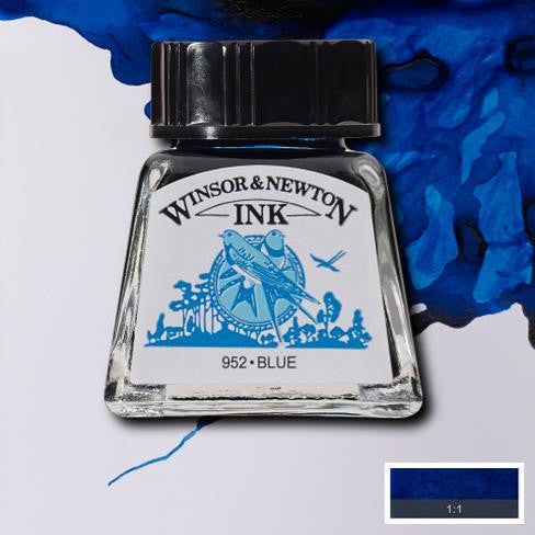 Winsor and Newton Ink 14ml – Blue