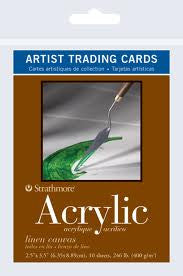 Strathmore Acrylic Artist Trading Cards x 10