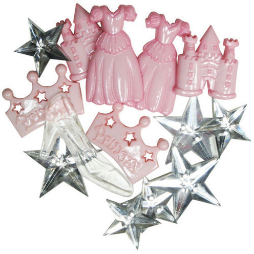 Novelty Buttons - Princess in Training