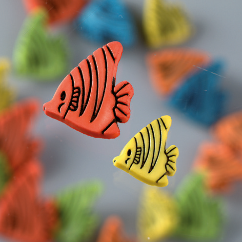 Novelty Buttons - Fishy