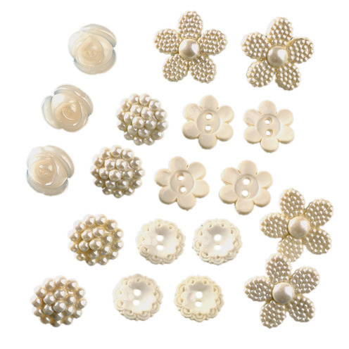 Novelty Buttons - Lace Inspirations