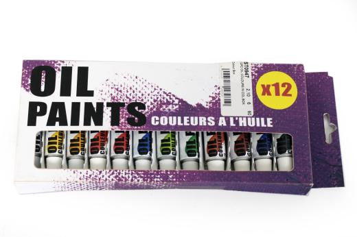 Oil Paints x 12