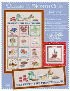 Dessert Of The Month-Part 1 Cross Stitch Chart
