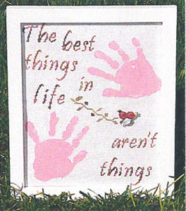 Life's Best Things Cross Stitch Chart