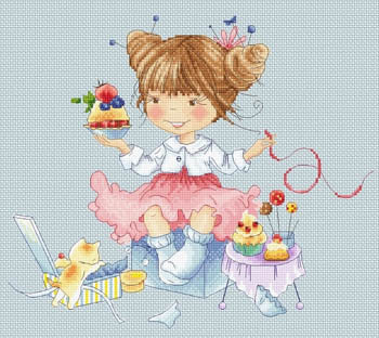 Cupcakes (Babok) Cross Stitch Chart