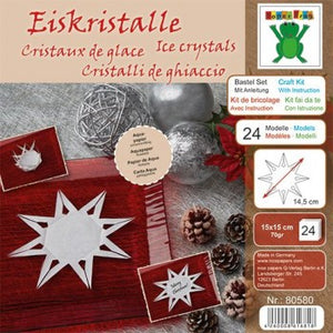 Ice Crystal Craft Kit With Instructions