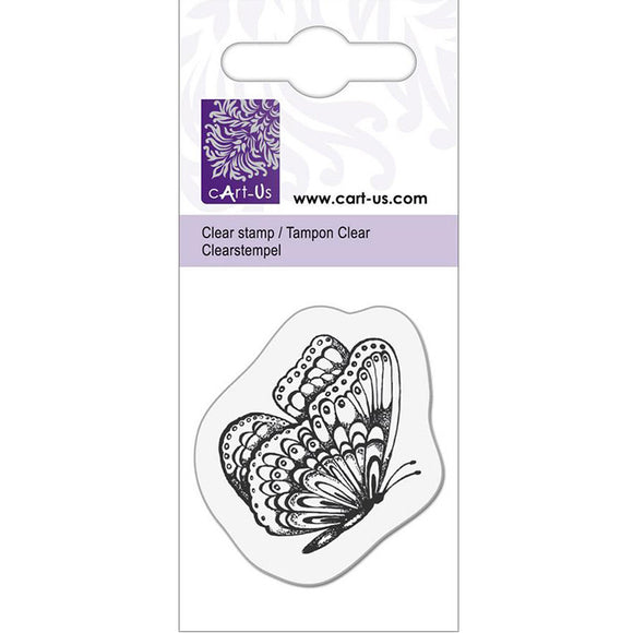 cArt-Us Clear Stamps - Butterfly
