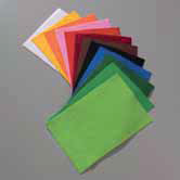 Felt Sheets - Viscose - 20 x 30cm - Plain Colours