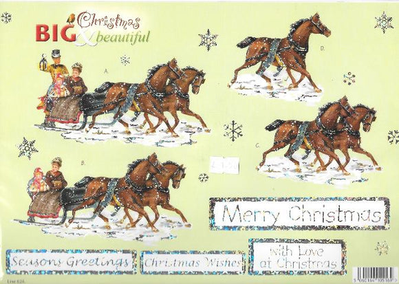 Die Cut Decoupage - Big & Beautiful Christmas