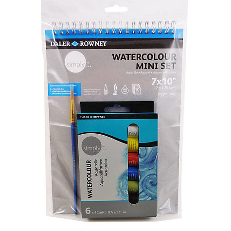 Daler Rowney Simply Watercolour Mini Art Set