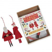 Vintage Crafts MYO Mr & Mrs Santa Dolly Pegs