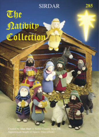 The Nativity Collection Knitting Pattern Book - Sirdar 285