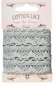 Blue/Grey Lace Sweet Christmas by Tilda