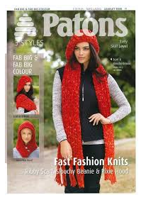 Patons Pattern 3939: Fast Knits in Fab Big & Fab Big Colour