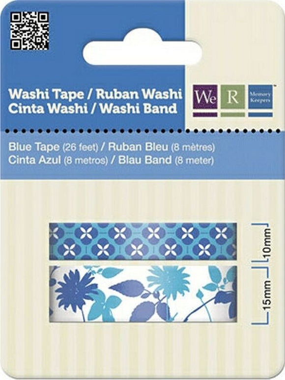 We R Memory Keepers Washi Tape x 2 – Blue