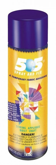 Odif 505 Spray And Fix Temporary Fabric Adhesive