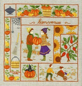 Royal Paris by Anchor Freestyle Embroidery Kit - October