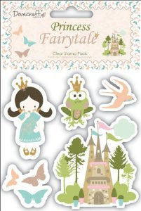 Princess Fairytale Clear Stamps
