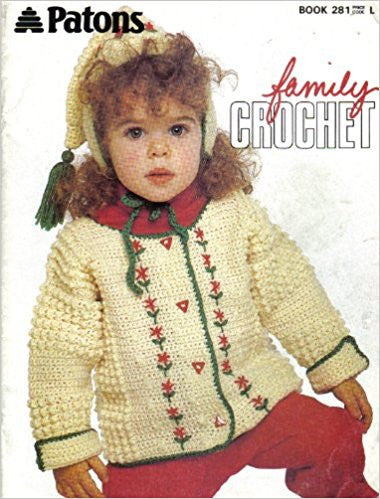 Patons Family Crochet Book - 281