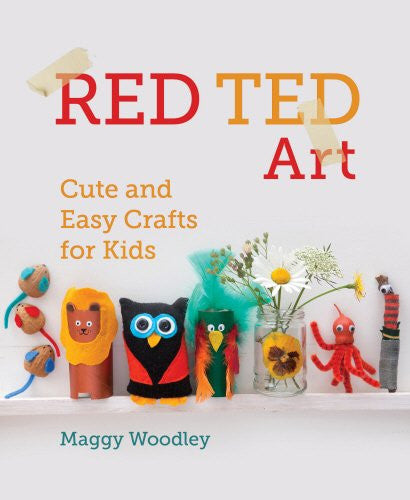 Red Ted Art - Book by Maggy Woodley