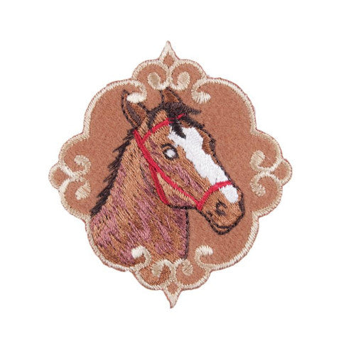 Iron-on / Sew-on Motif - Horses