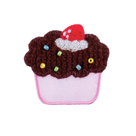 Iron-on / Sew-on Motif - Cupcake
